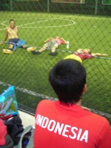 Sport à Bali : Le Futsal