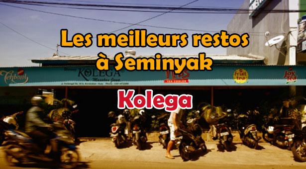 Les meilleurs restaurants à Seminyak, Bali : Kolega