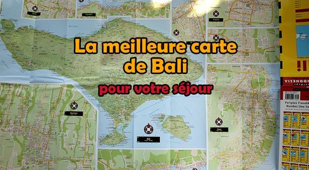 La meilleure carte pour votre séjour à Bali : Le Bali street atlas !