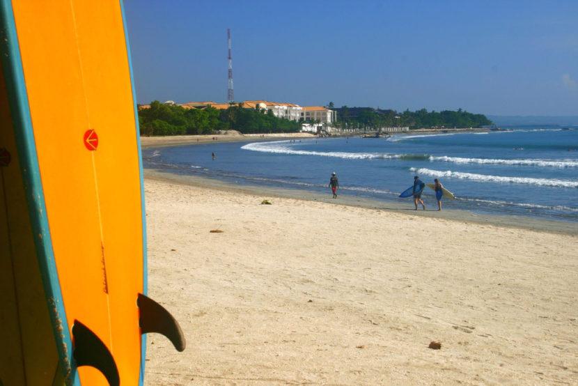 surf kuta plage bali