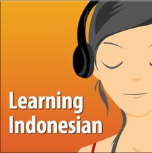 Learning indonesian podcast
