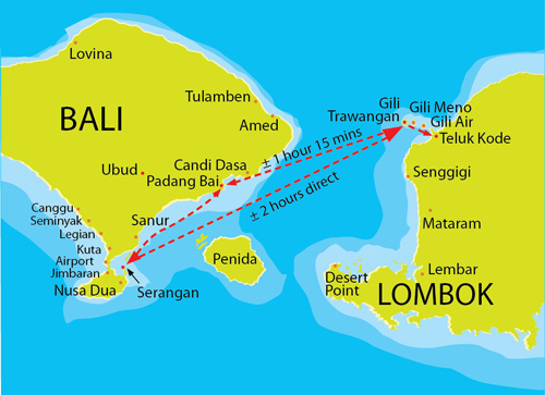 Traversée Bali Lombok