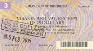 Visa-on-Arrival-Bali