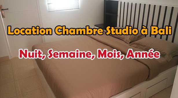 Location Chambre Studio Hôtel à Legian Seminyak Bali pas cher à la nuit, semaine ou mois