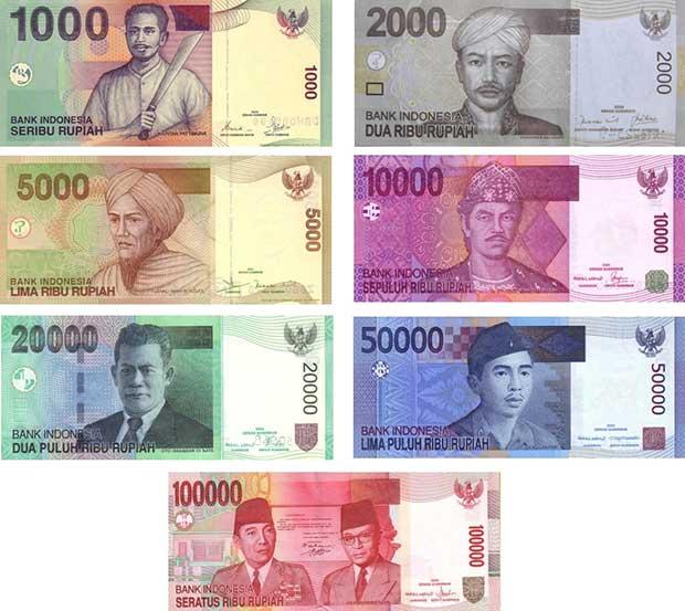 Monnaie-Bali-Billets-de-banque