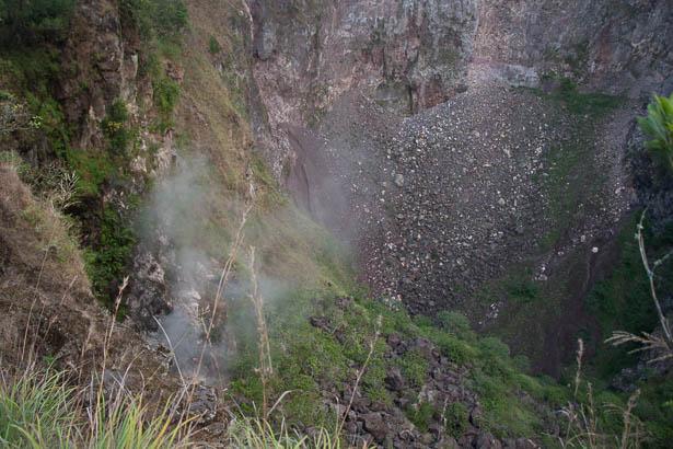 Ascension-mont-batur-Bali-cratere