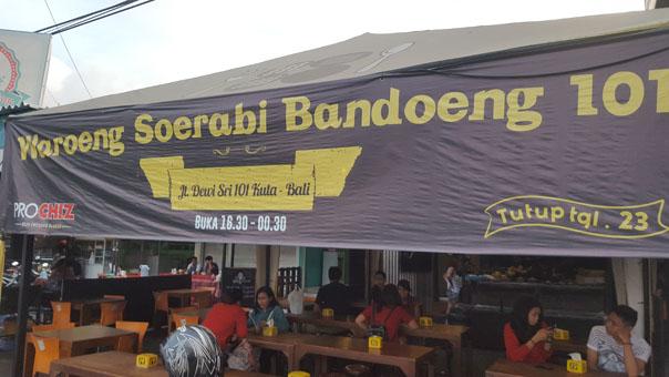 Dessert traditionnel Javanais chez Warung Soerabi Bandung (3)