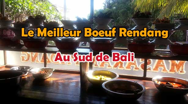 meilleur restaurant padang boeuf rendang a bali lebaliblog. Black Bedroom Furniture Sets. Home Design Ideas