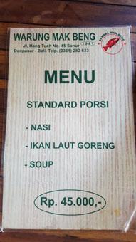 Restaurant Mak Beng a Sanur (2)