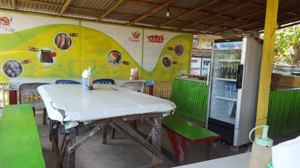 Warung Batan Bekul Meilleur Poisson Grille et Pas Cher a Nusa Dua Benoa (1)