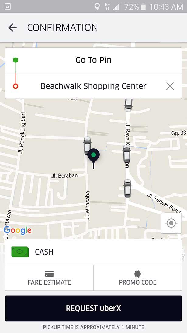 arnaque uber sms