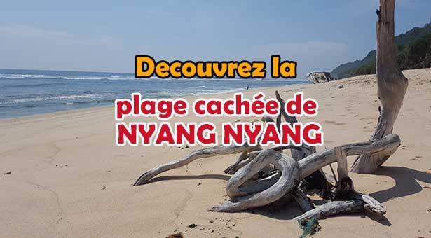 Découvrez la plage cachée de Nyang Nyang a Pecatu Ulu Watu