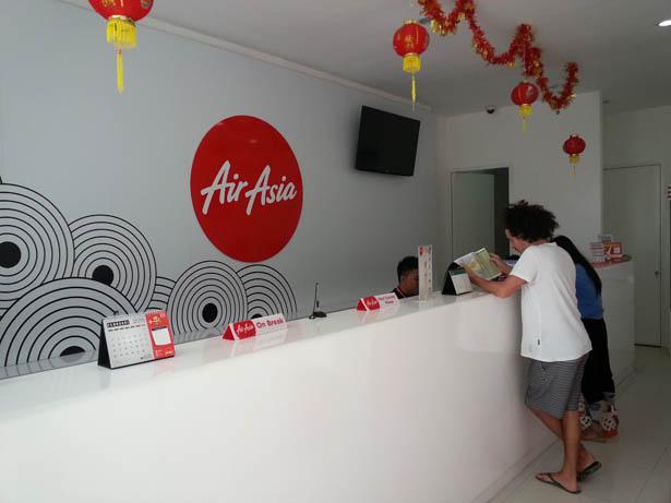 Acheter vos billets d'avion Airasia et payer en liquide Bali (1)
