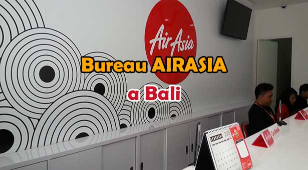 Acheter vos billets d'avion Airasia et payer en liquide a Bali