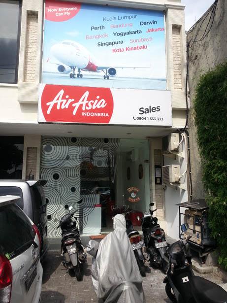 Acheter vos billets d'avion Airasia et payer en liquide Bali (3)