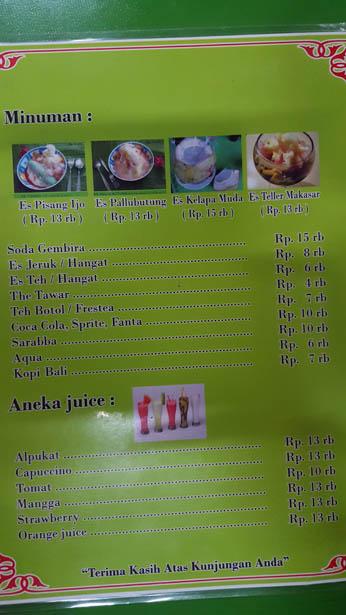 Coto Makassar Cuisine de Sulawesi à Bali (7)