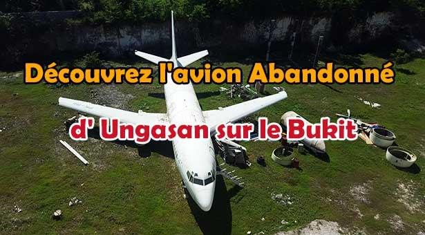 Découvrez-l'avion-Abandonné-d'Ungasan-sur-le-Bukit-UNE