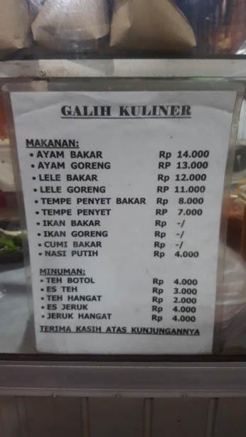 Jimbaran Poulet roti Galih Kuliner Ayam Bakar (2)