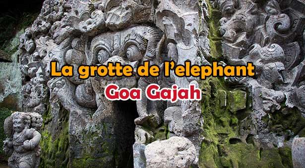 Présentation de Goa Gajah, La grotte de l'éléphant a Ubud