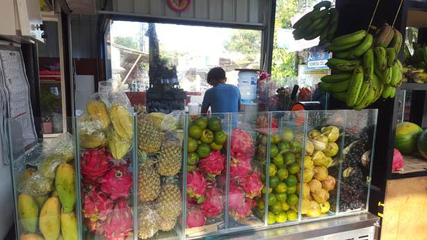 Jus de fruit Kuta Bali Blog (1)
