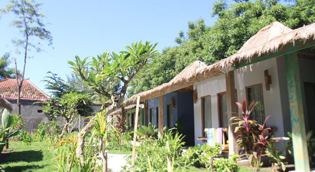 Maha Putri Bungalows Hotel Gili Trawangan Lombok