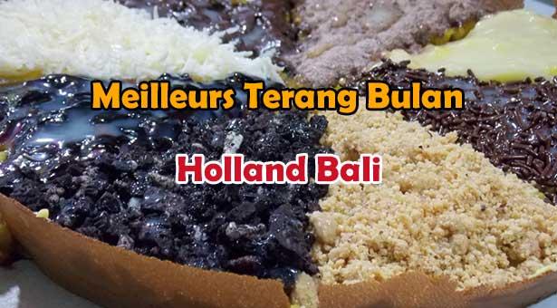 Les Meilleurs Terang Bulan de Bali chez Holland Terang Bulan