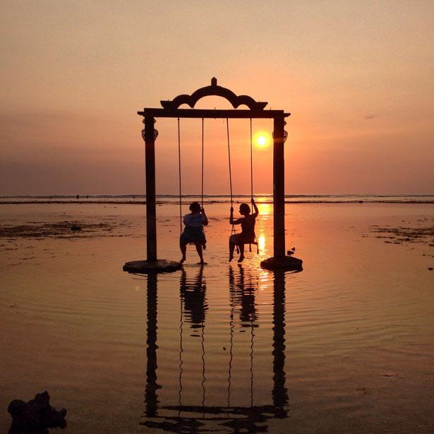 Gili Trawangan Balancoire Lombok Blog Bali