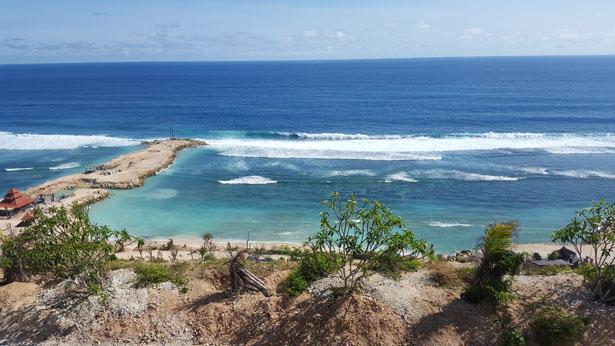 Les falaises de Melasti - Plage Melasti Peninsule Bukit Bali (6)