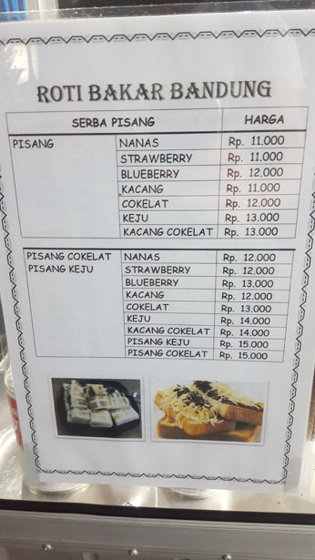 Street Food Bali Roti Bakar Toast Pain Grille Blog Bali (8)