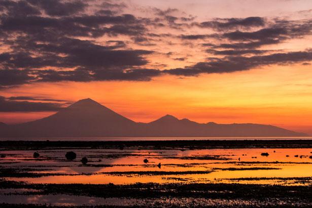 Sunset Coucher du Soleil Gili Trawangan Lombok Blog Bali