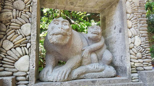 Visite de la Foret des Sines - Monkey Forest a Ubud (1)