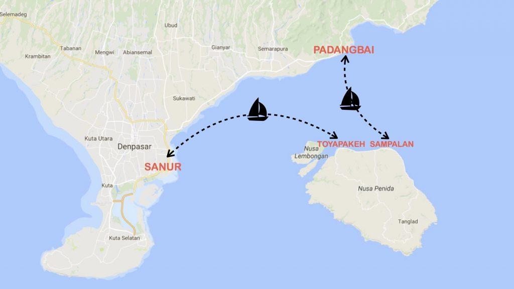 Horaires Fastboat Bali Nusa Penida