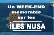 Un week-end mémorable sur les îles Nusa Lembongan et Nusa Penida