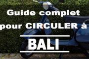 Guide complet pour circuler à Bali (Voiture, Taxi, Scooter, Bus)