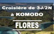 Croisière entre les îles Komodo et Flores