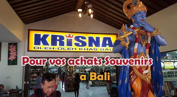 Le meilleur endroit a Bali pour vos achats souvenirs : Krisna Oleh Oleh Khas Bali