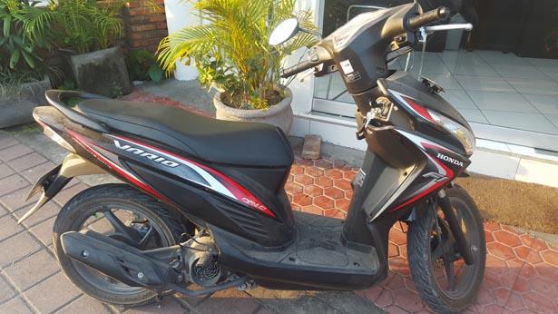 Ça roule à Bali : Le scooter comme moyen de transport