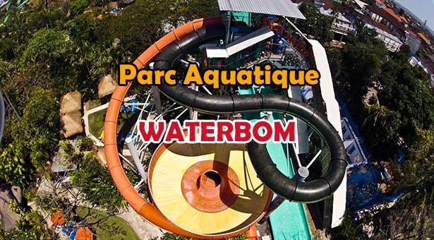 Waterbom : Le Meilleur Parc Aquatique d'Asie a Kuta Bali