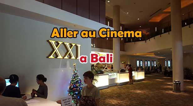Aller au cinéma a Bali