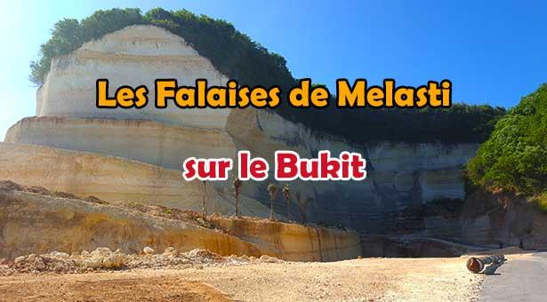 Découvrez les falaises de Melasti sur le Bukit