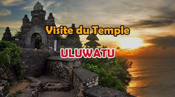 Visite du Temple Uluwatu sur la péninsule du Bukit