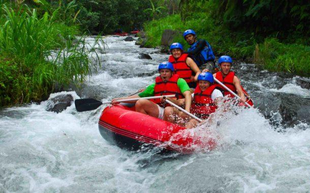 Excursion Rafting à Ubud sur la Rivière Ayung